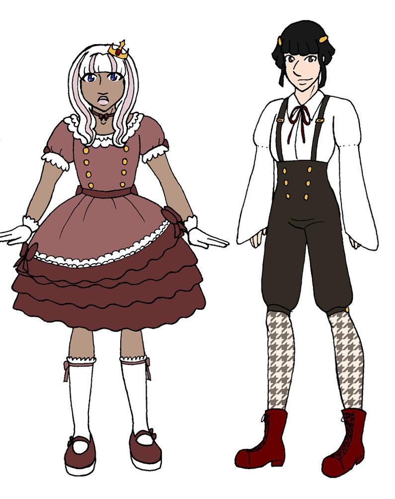 Lolita Kingdom Costumes by BatNeko