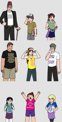 T-Shirts by BatNeko