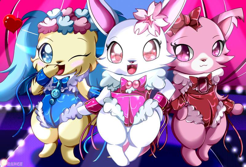 Jewel Playgirls by Rubynite
