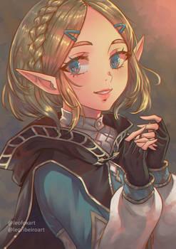 Zelda Short Hair