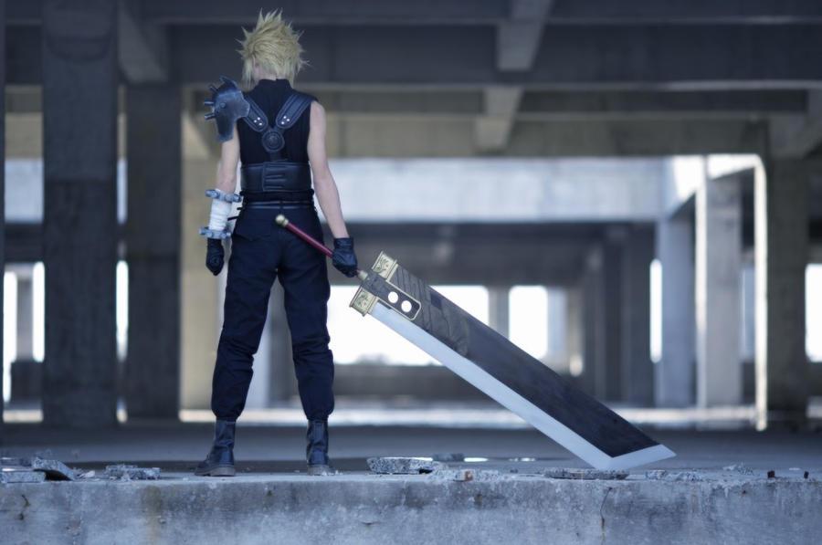 [Final Fantasy VII]cosplay  Cloud Strife cn micya by TOOmicya