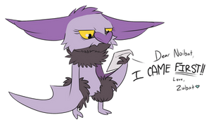 To Noibat, With Love by RocketMeowth