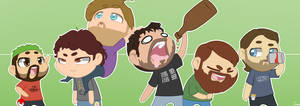 Achievement Hunters by dmann892