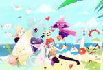 In summer~!