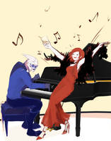 I wanna see you guys do a duet! by Delomia