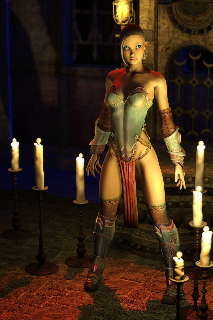 Young Warrior Queen by hhemken