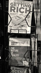 Magazines, Whole Foods (Homage to Robert Frank)
