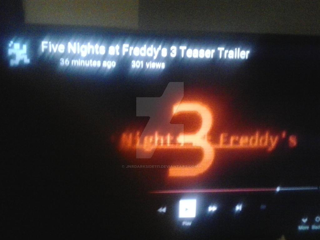 5 nights at freddys 3 trailer