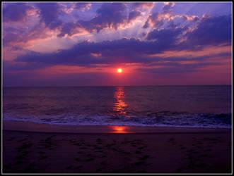 Monmouth Beach Sunrise by Ryser915