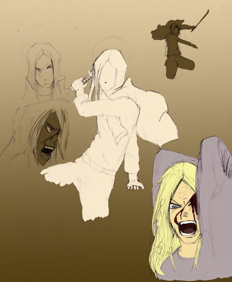 Soul Eater: mifune Study by GenesisGoBoom