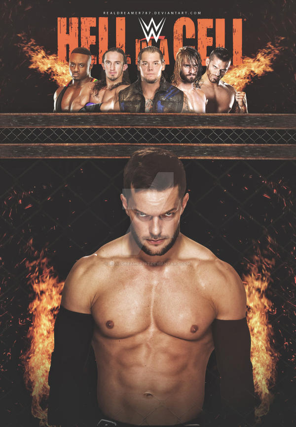 Hell in a Cell 2016 Poster by realdreamer787