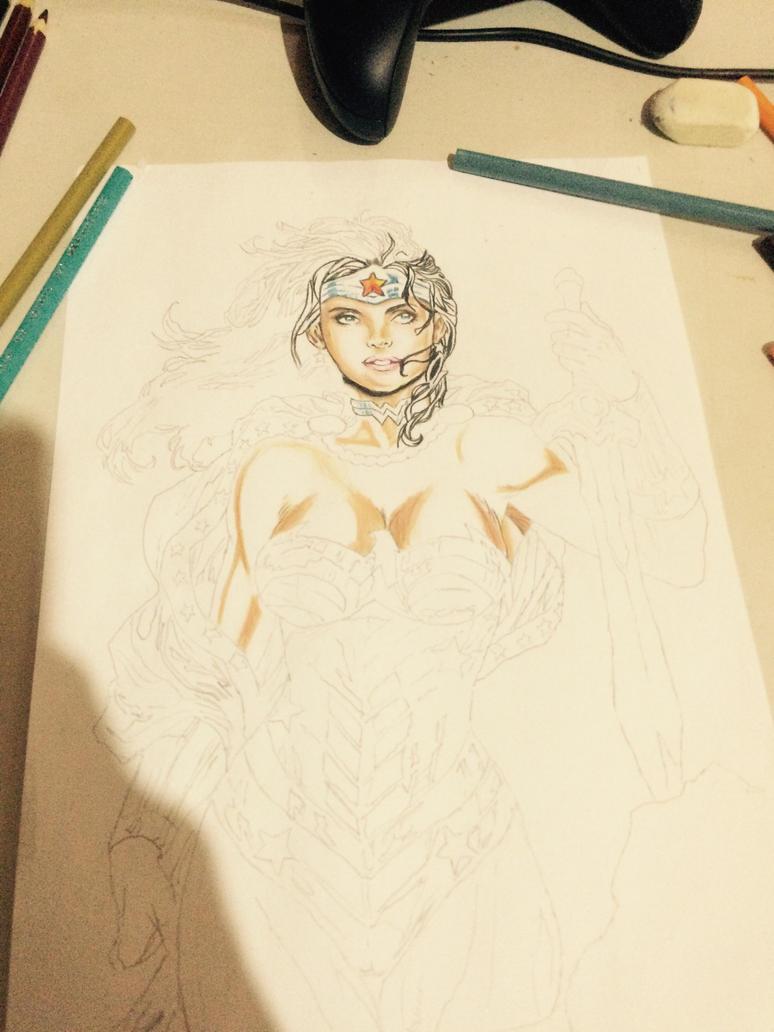 Wonder woman by rayanallan