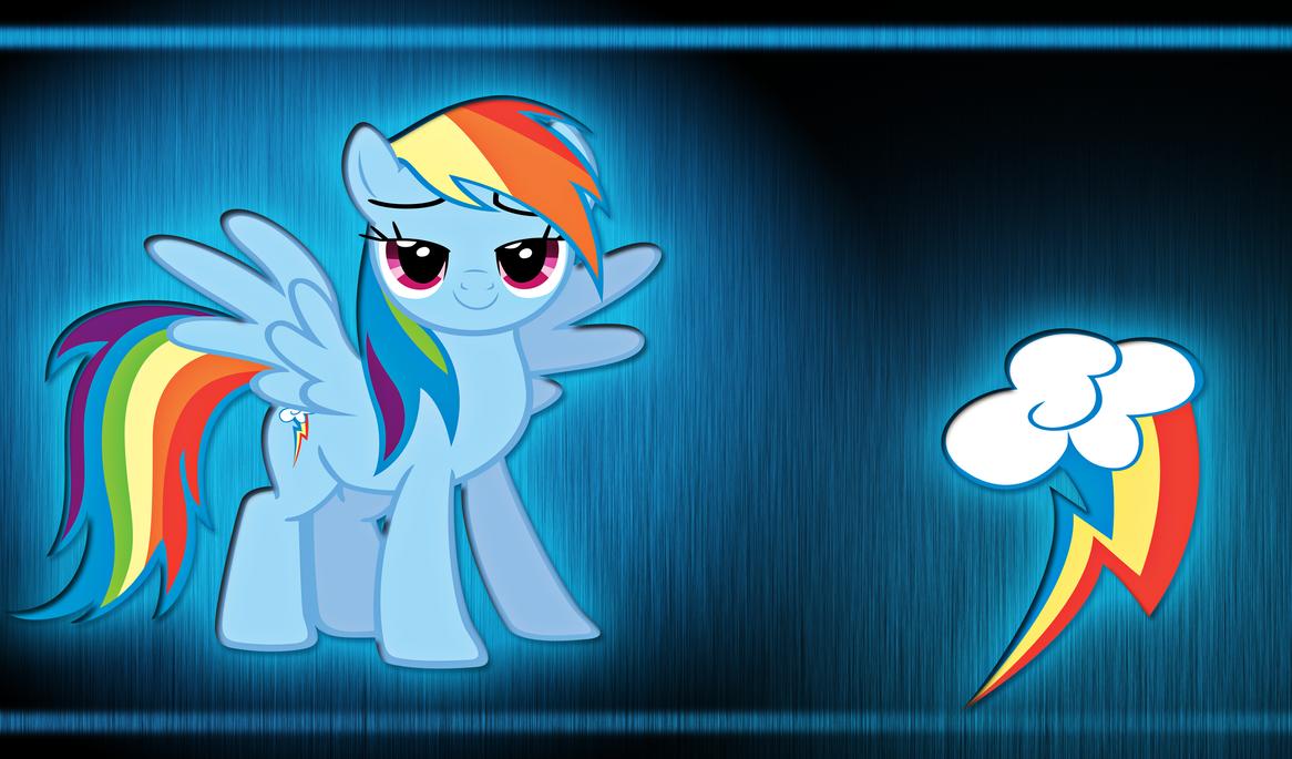 Rainbow Dash WP by alanfernandoflores01