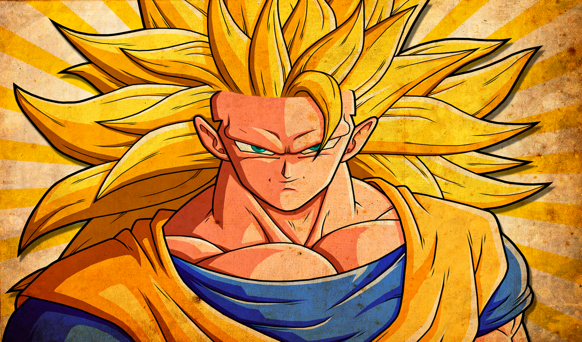Hd Wallpaper Hd Goku Ssj 3 2450x Wallpaper