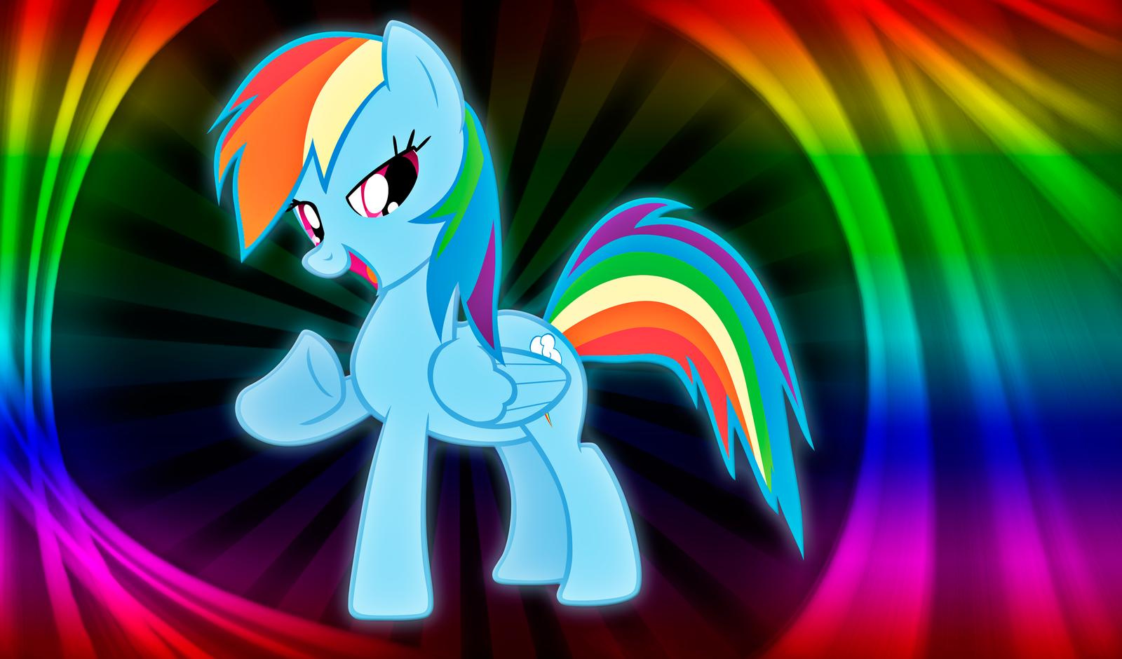 Rainbow Dash Wallpaper by alanfernandoflores01 on DeviantArt