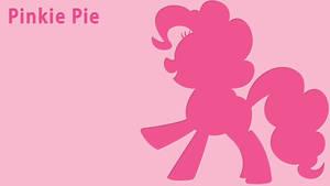 Pinkie Pie LetterPress Wallpaper