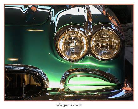 Silvergreen Corvette