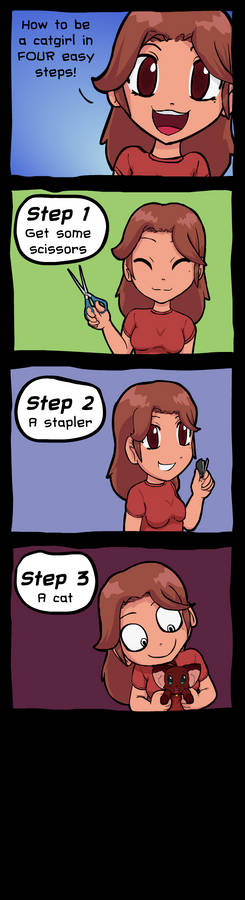 How To Be a Catgirl in Five Easy Steps