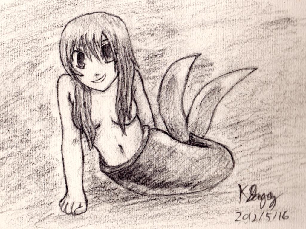 Tammy the Mermaid by radstylix