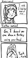 Envy and turkey comic by radstylix