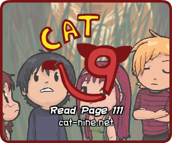 Cat Nine - Page 111 by radstylix