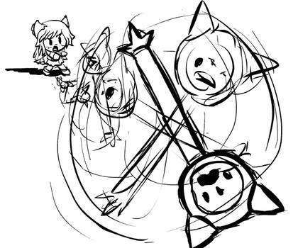 Magicat Girl - Throw your wand at the portal