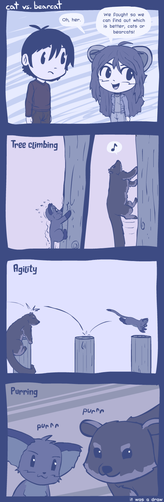 cat vs bearcat by radstylix