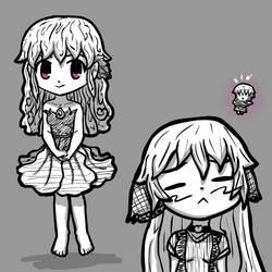 Magicat Girl Concept 2 - Hibi-hibi