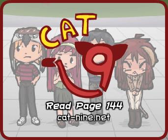 Cat Nine: Page 144 by radstylix