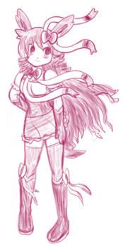 Sylveon Tammy Sketch