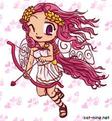 Monthly Myan and Friends - Cupid Hibi-Hibi