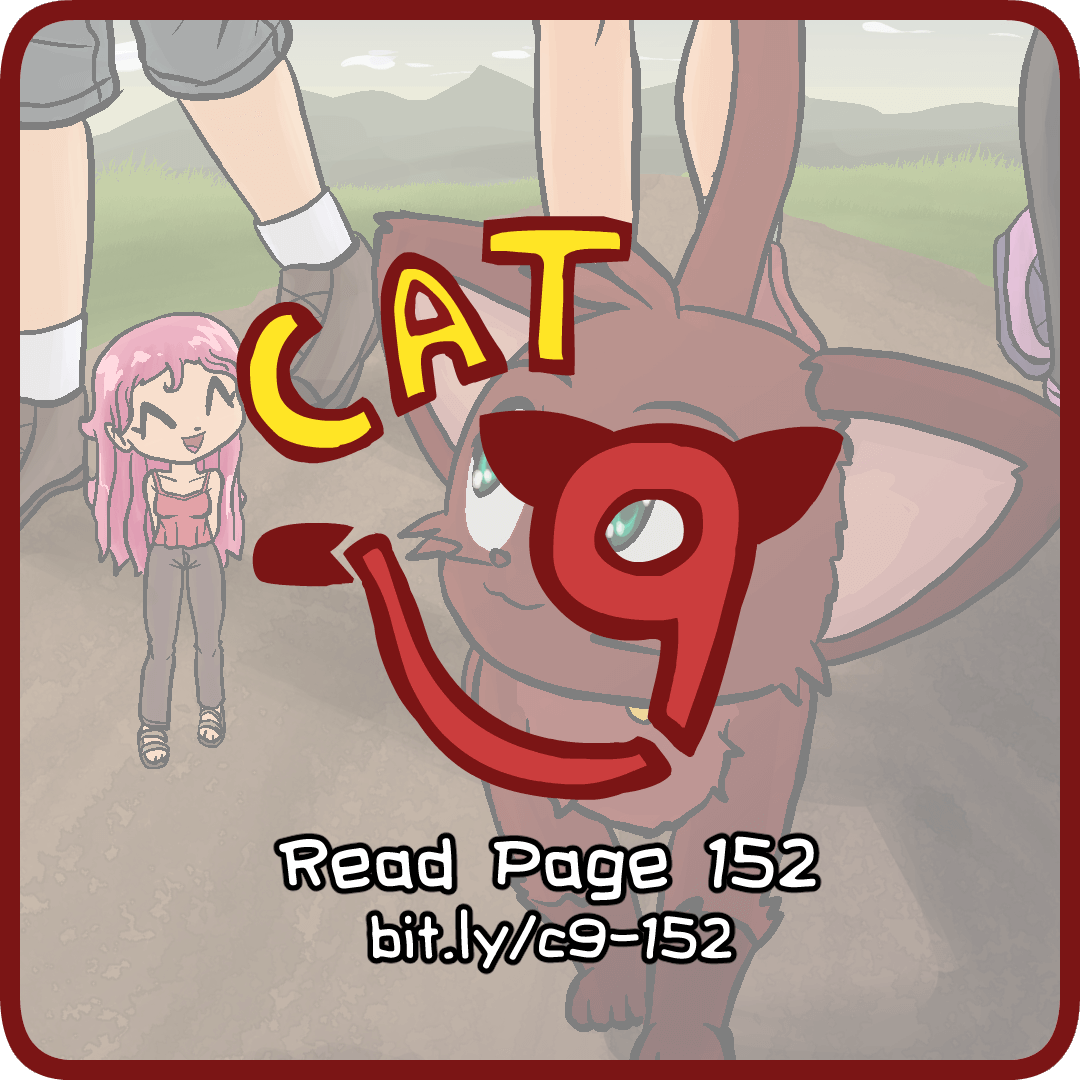 Cat Nine: Page 152 by radstylix