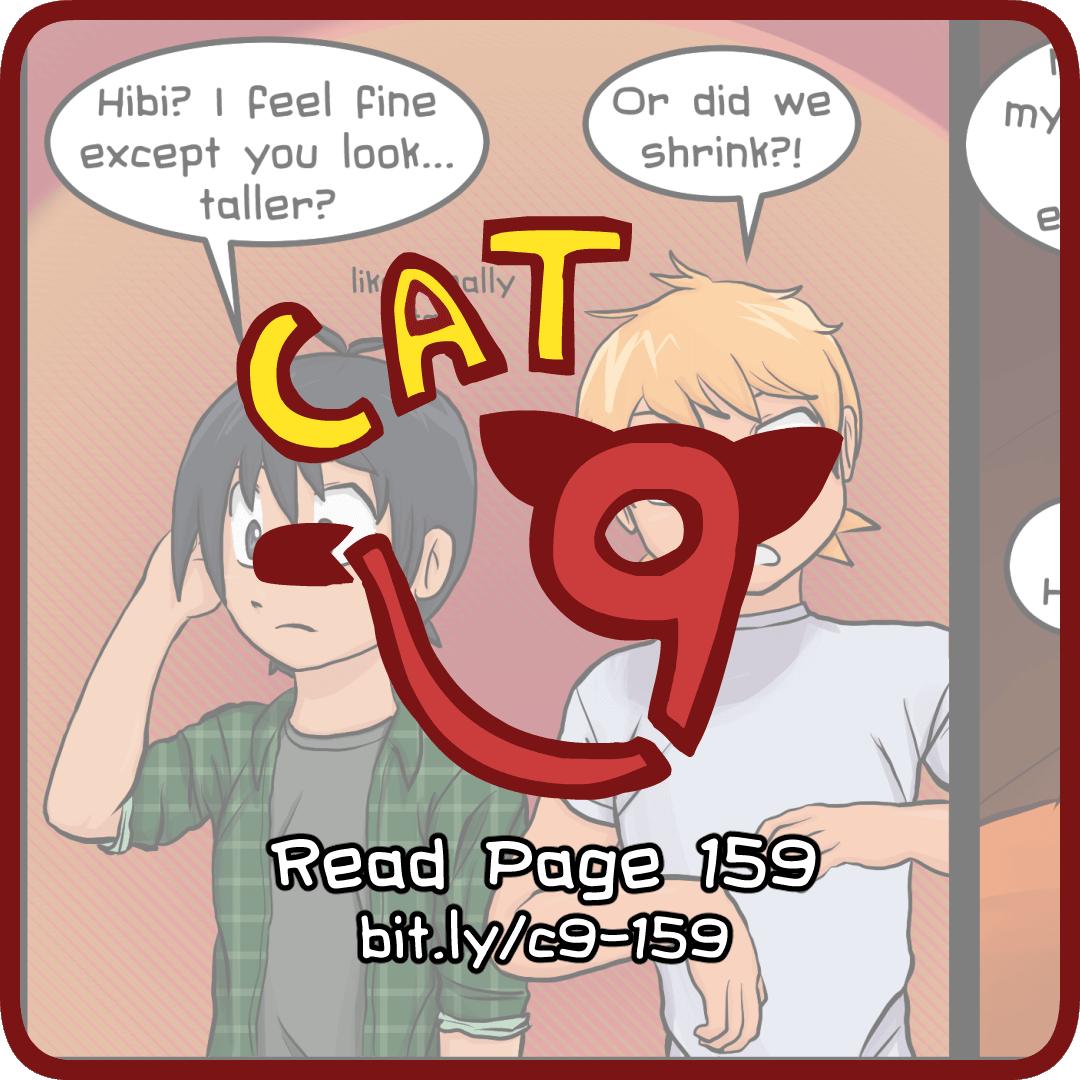 Cat Nine: Page 159 by radstylix
