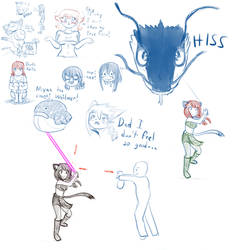 Twitchy Sketches 3
