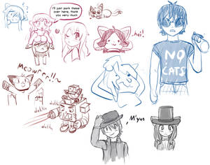 Twitchy Sketches 4