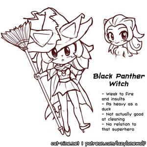 Magicat Girl - Panther Witch Myan