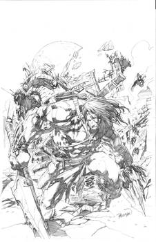 Skaar Cover Pencils