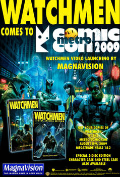 Watchmen DVD Launch