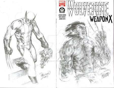 Wolverine 1 sketch cover