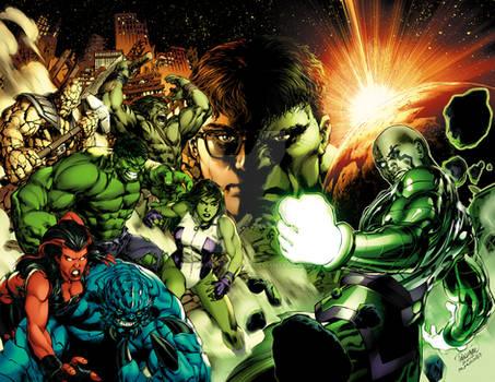 Hulk 612-613  Dark Son