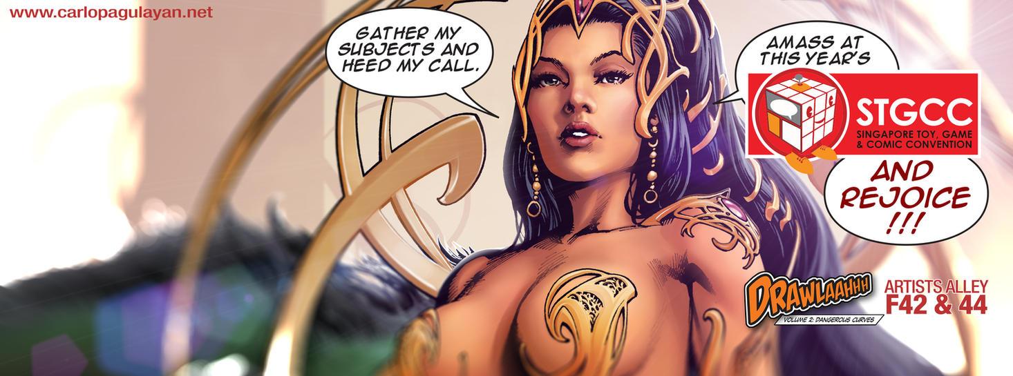 Dejah Thoris tease by guisadong-gulay