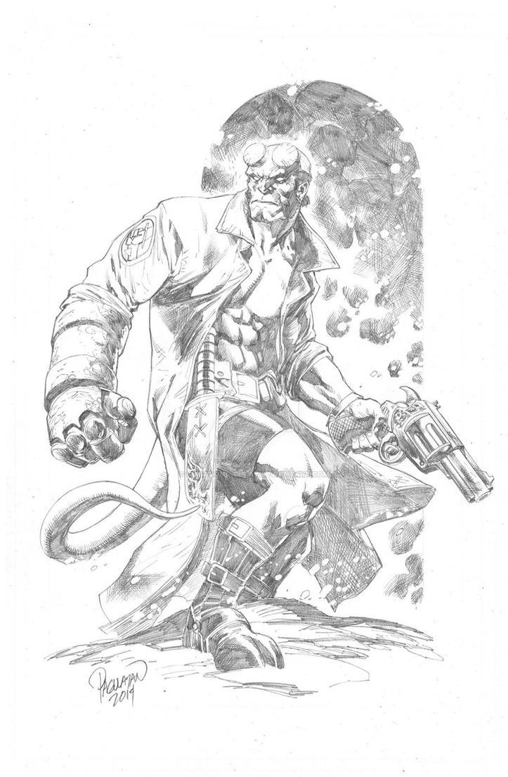 Hellboy by guisadong-gulay