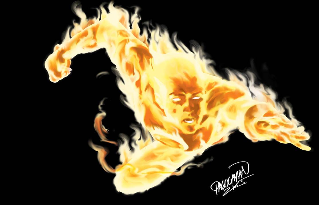 Human Torch by guisadong-gulay