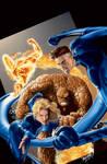 Fantastic Four Painted