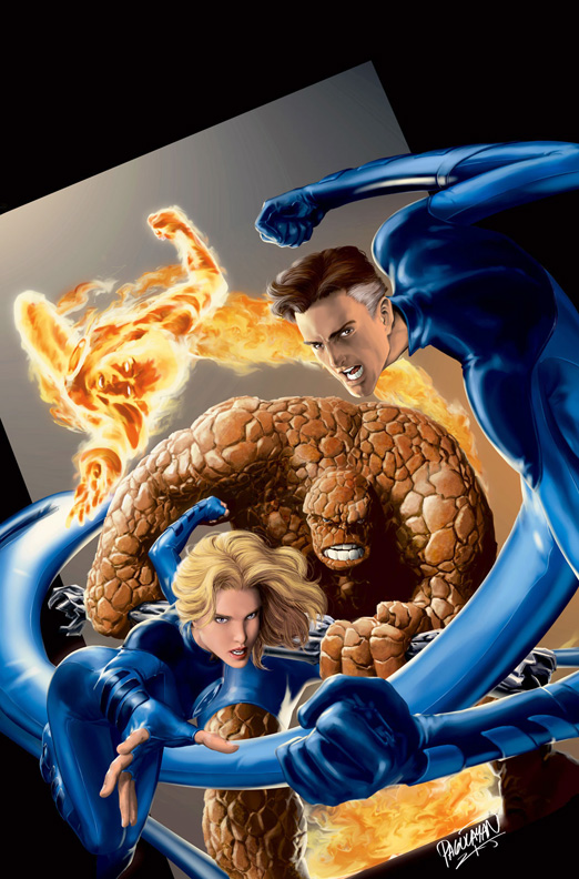 Fantastic Four Painted by guisadong-gulay
