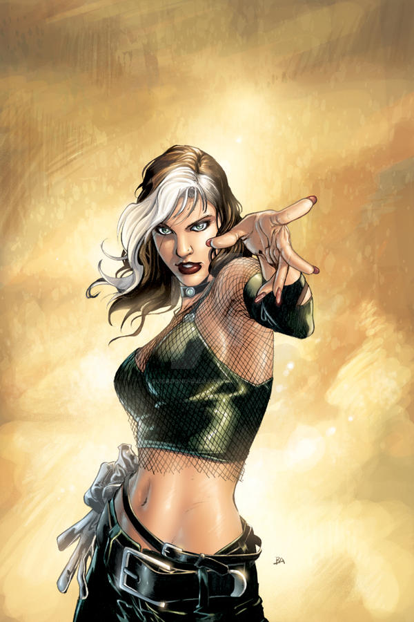 Rogue number 1 Unused Cover