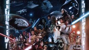 Star Wars Fandango Wallpaper version
