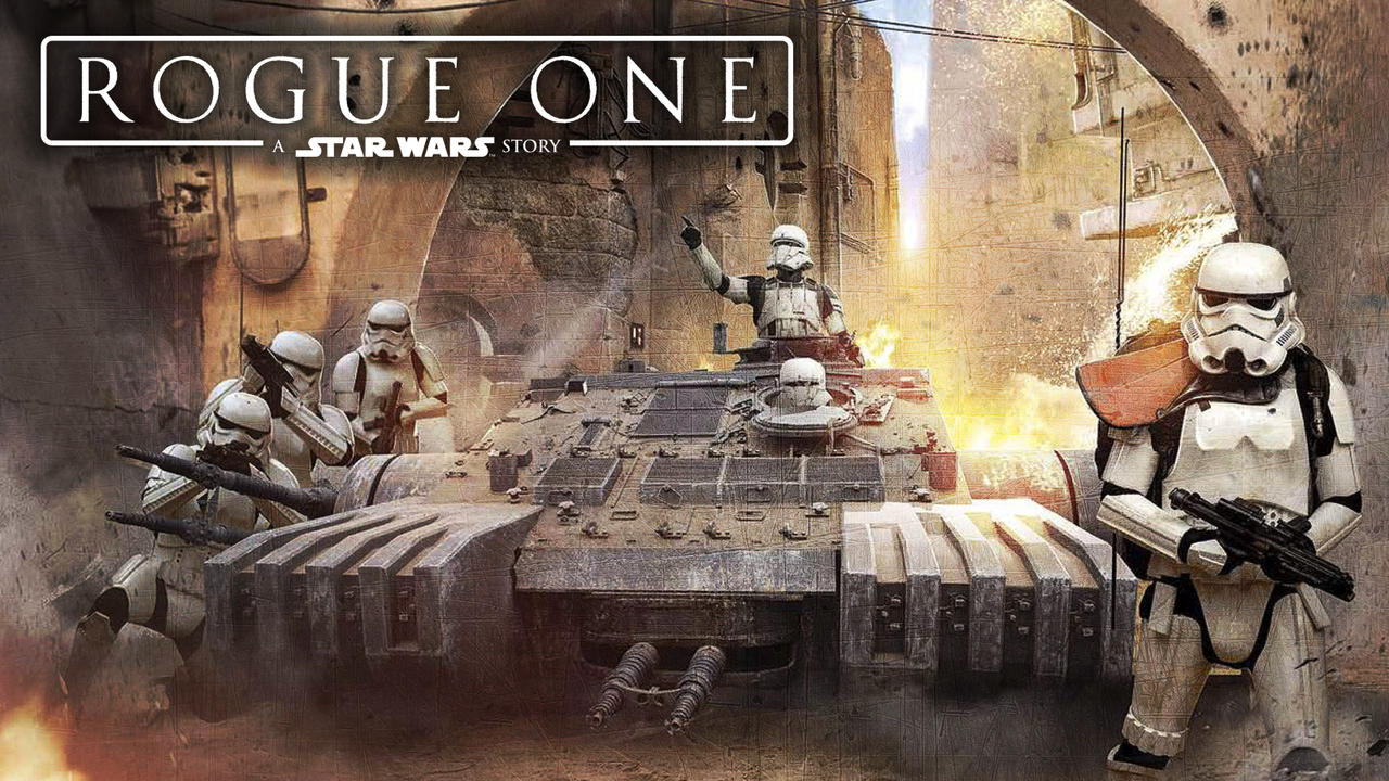Rogue One Wallpaper 3 (stormtroopers at Jedha) by Spirit--Of-Adventure