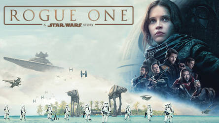 Rogue One Wallpaper (Theatrical poster)