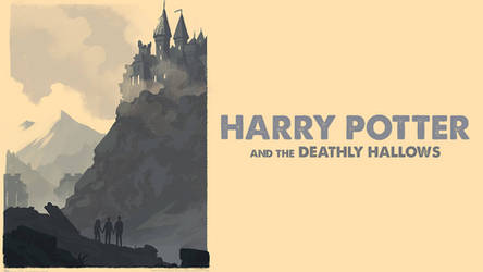 Harry Potter and the Deathly Hallows Wallpaper by Spirit--Of-Adventure